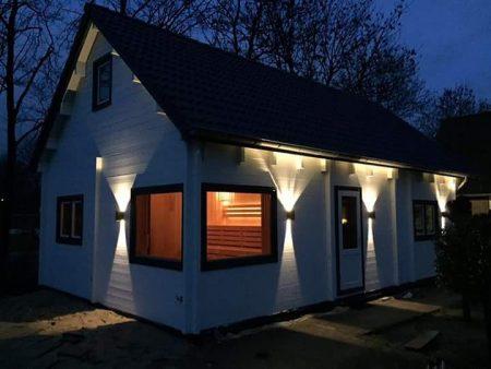 Log cabin in Ireland