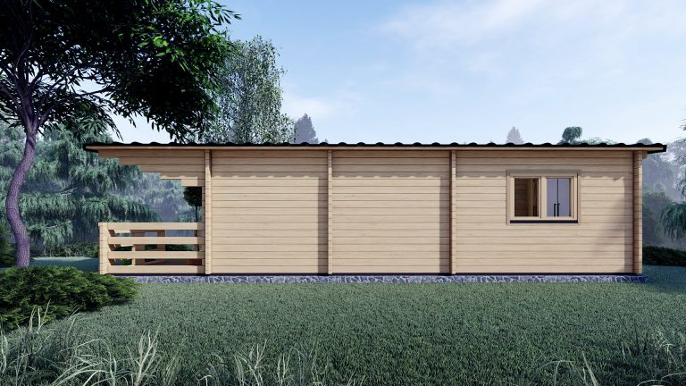 Two Bed Budget Log Cabin 5.2m X 10.2m 4