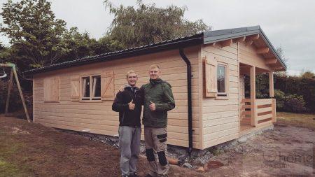 Log Houses In Ireland Pagrindine