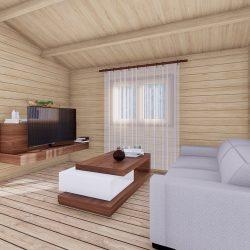 Residential Log Homes For Sale 08