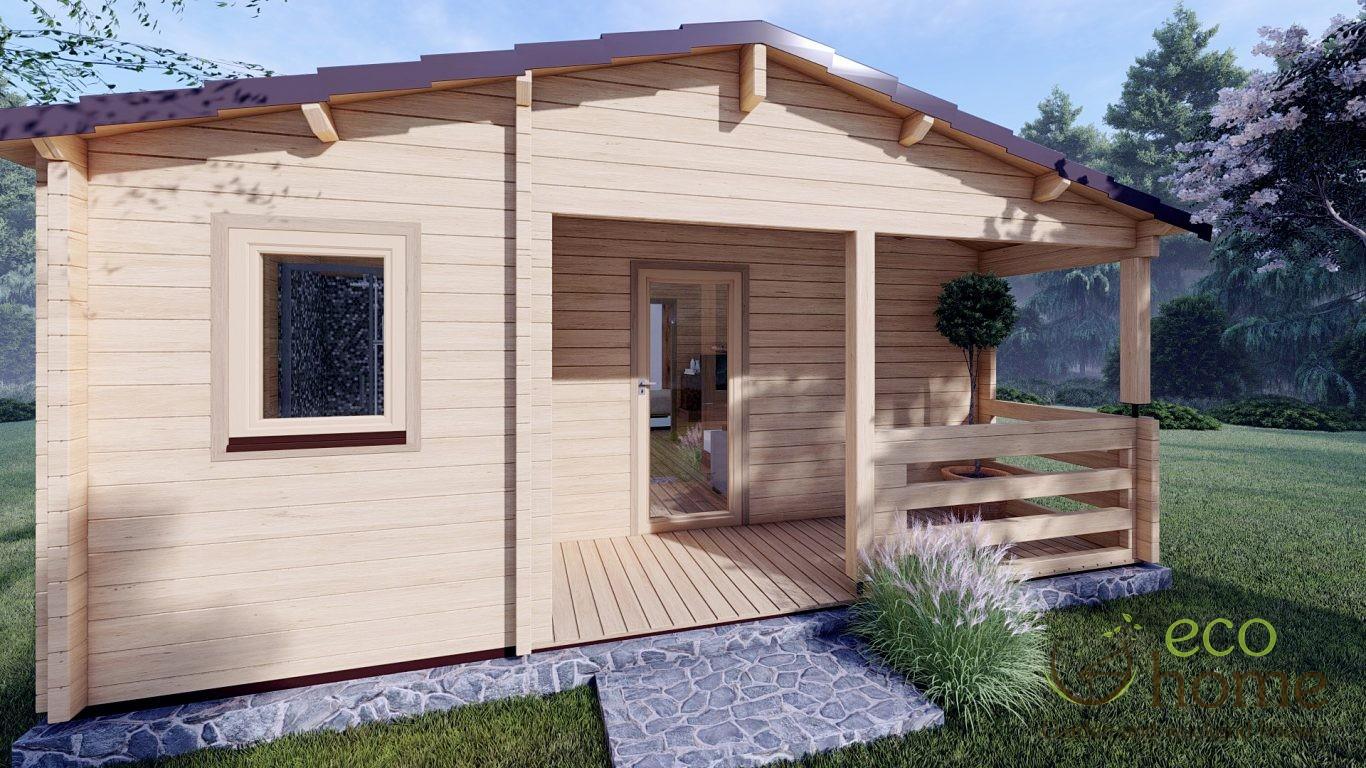 Residential Log Homes For Sale 06