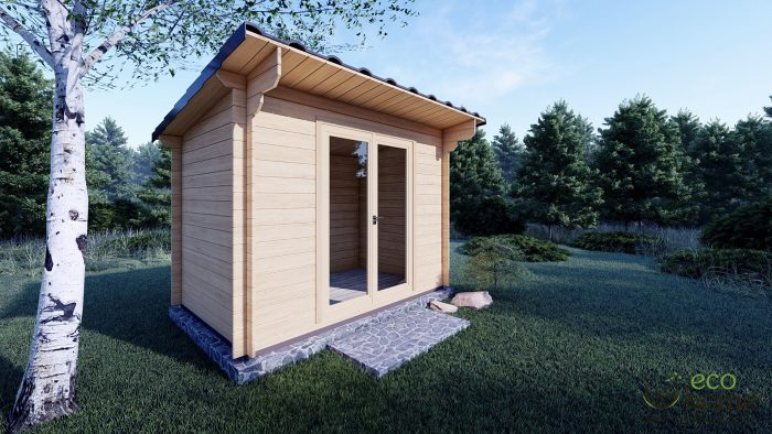 Garden Log Cabin Edith 3m X 2m