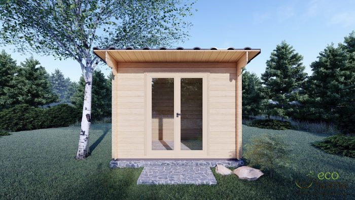 Garden Log Cabin Edith 3m X 2m Log Cabins Ireland