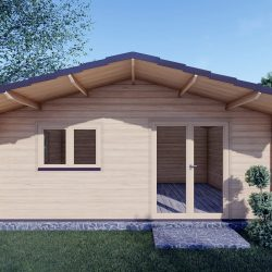 Residential Log Cabins For Sale Linus 6 03