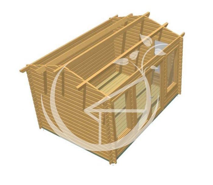 Kilkenny 4x3 Log Cabin 1