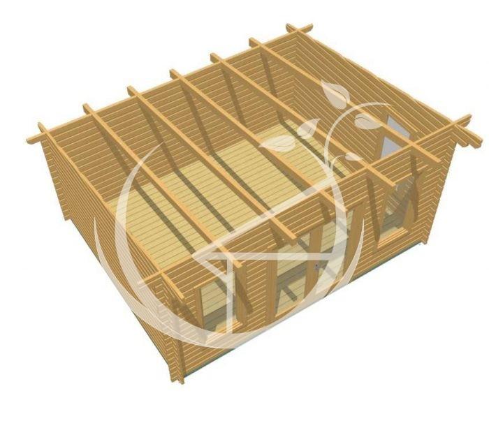 Portlaoise 5x4 Log Cabin 1