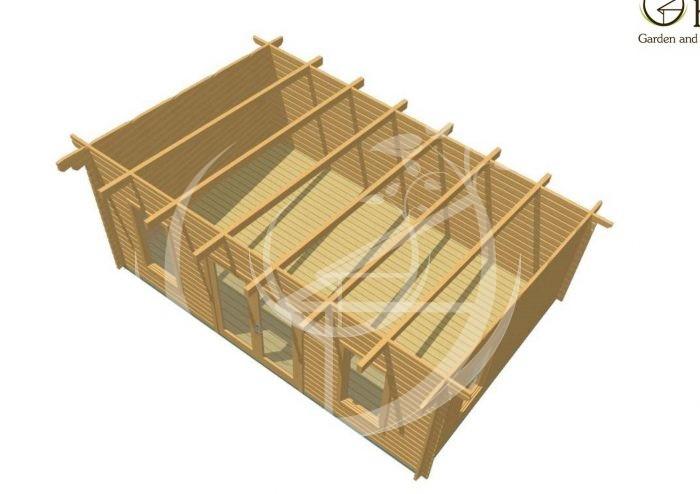 Portlaoise 6x4 Log Cabin 1