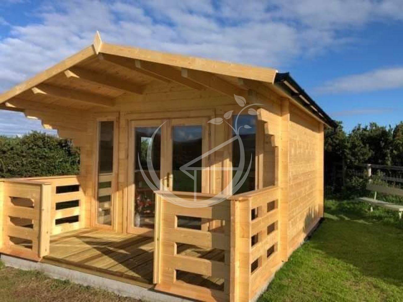 Milano Log Cabin Ecohome 1