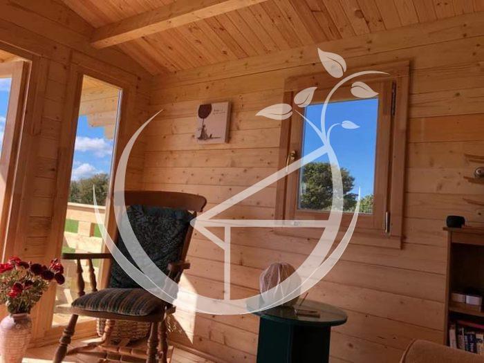 Milano Log Cabin Ecohome 5