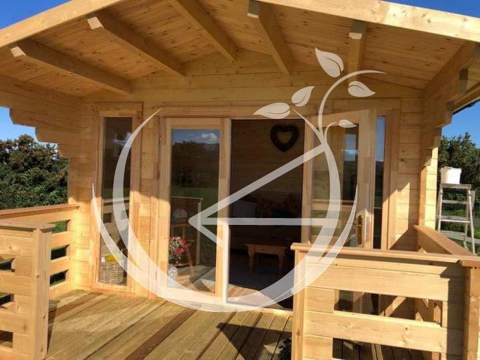 Milano Log Cabin Ecohome 9
