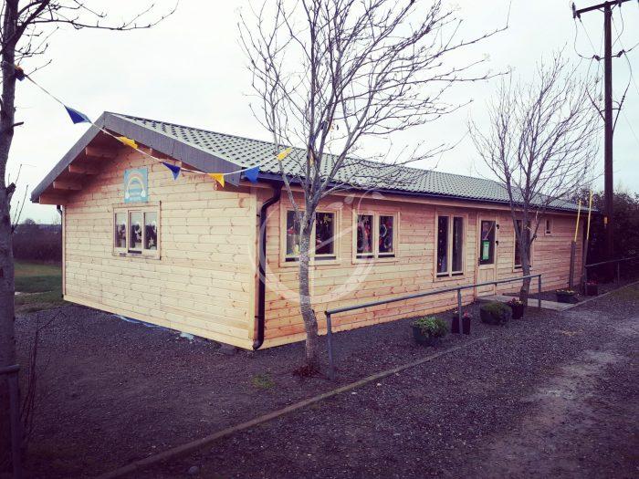 Building Log Cabins For Schools Foto 1