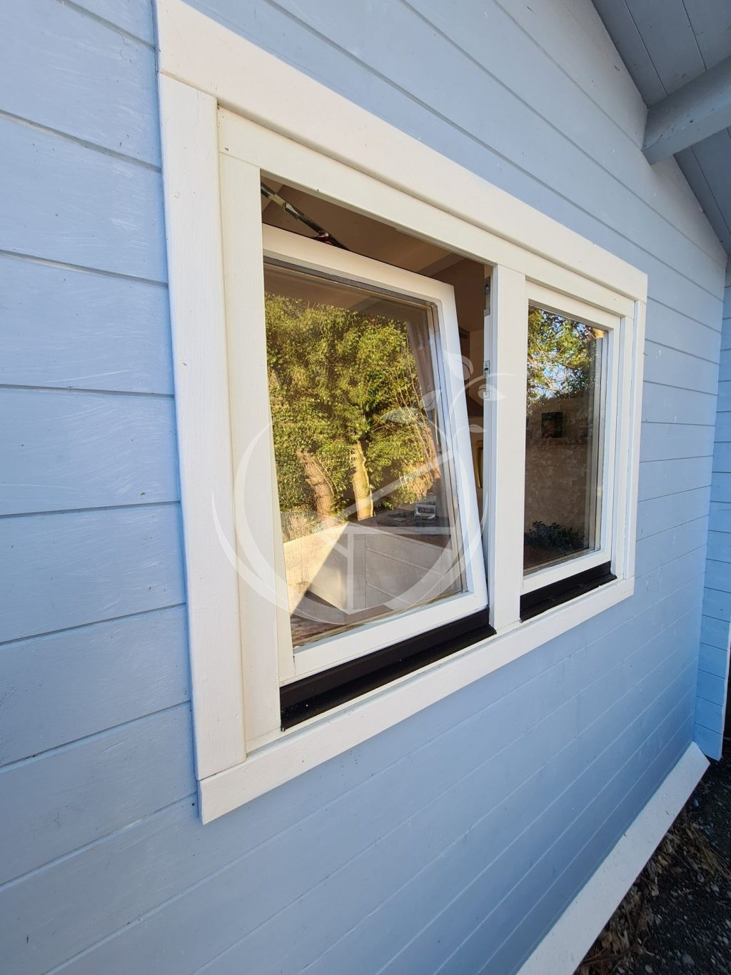 What Types Of Windows Are Suitable For A Log Cabin Foto 1