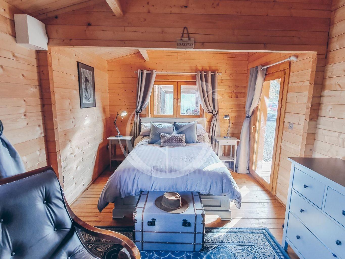 Decorating Your Log Cabin Interior Foto 2
