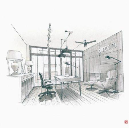Foto 1 Office log cabins
