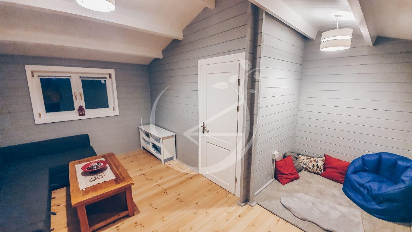 Office Log Cabin In Back Garden Ireland Foto 5
