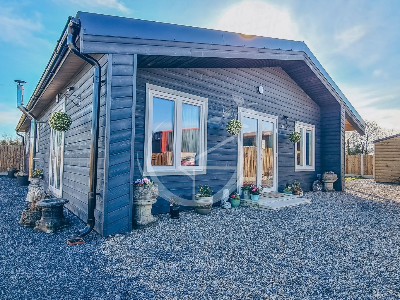 What's The Difference Between A Log Cabin And A Conventional Block Built Home Foto 5